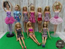 Lote Com 10 Bonecas Barbie Mattel