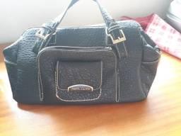 Bolsas de couro legítimo , sem uso ,pretas