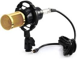 Microfone Condensador Profissional Estúdio Bm800- Loja  Natan Abreu Serra