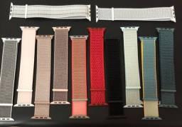 Pulseiras de Nylon Apple Watch e Smartwatch