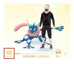 Conta Pokémon Go Level 40