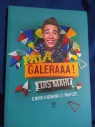 Livro Luis Mariz autografado + pôster autografado