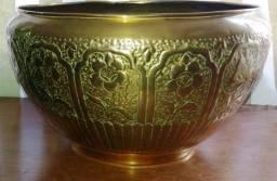 Cachepot Dourado Persa, antiguidade!