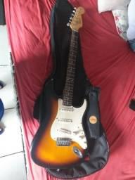 Guitarra fender squier seme nova