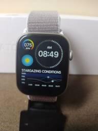Relógio Smart, coloca fotos, 2 pulseiras