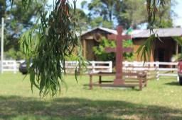 Locação de Casa aconchegante com piscina no Sítio Missioneiro Em Rancho Velho