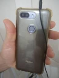 Vendo celular Philco de 128 gb 4 ram todo bom aceitar tocar