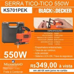 Serra Tico Tico  550W KS701PEK Black & Decker