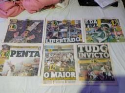 Jornais Lance + poster Corinthians