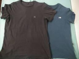 Kit 2 camisas básicas rota do mar