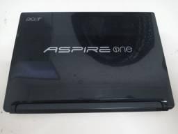 Netbook Acer Aspire One Intel Atom N450 2GB HD 250GB Em perfeito estado