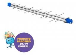 Antena Tv Digital 28 Elemento Uhf Pq45-10 40hd Pro Eletronic