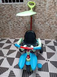 Vendo ou Troco Triciclo smart plus vermelho/azul - bandeirante