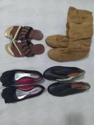 Lote de sapatos 34