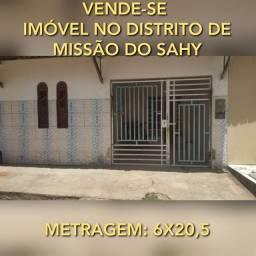 VENDE-SE IMÓVEL NO DISTRITO DE MISSÃO DO SAHY