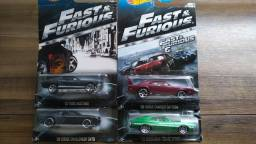 Hot Wheels Velozes e Furiosos c/4