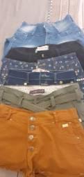 Vendo lote de shorts e 1 calça