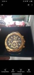 Relógio Casio edifice dourado