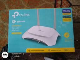 Roteador tp link 300 mbps + acessórios