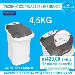 Tanquinho Semiautomática 4,5kg Colormaq