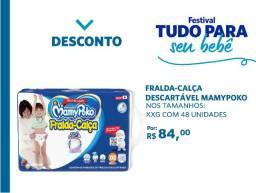 Fralda-Calça MamyPoko Tamanho XXG 48