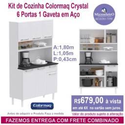 Kit de Cozinha Colormaq Crystal