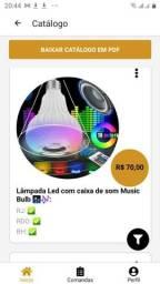 Lâmpada Led com caixa de som Music Bulb ??