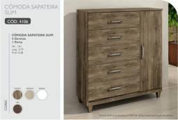 Cômoda slim Sapateira