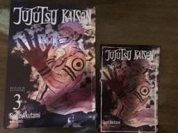 Mangá Jujutsu kaisen 3 capa variante rara