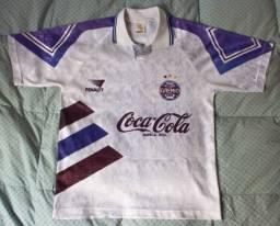 Camisa branca Grêmio Penalty Tamanho M #10 1993