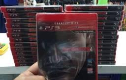 Jogo novo Metal Gear Solid IV ps3. Retirada Portão ou Água Verde