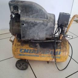 COMPRESSOR  24 litros 174 libras ótimo compressor