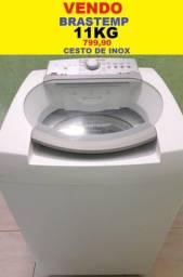 Máquina de Lavar 11Kg Brastemp Cesto de Inox