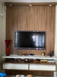 Painel de televisão + raque