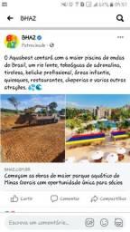 Parque aquático em Minas