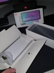 Redmi Note 8, 64gb, na caixa, tela trincada