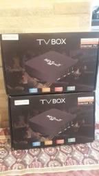 TV box  nova na caixa
