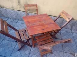 Mesa para bar, mesa 4 cadeiras