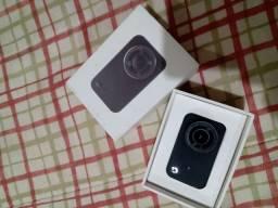 Câmera filmadora 4k xiaomi + Gimbal + brinde