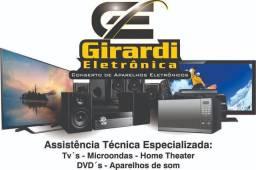 Título do anúncio: Consertos de tv's em geral