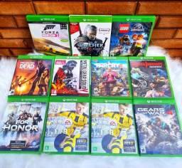 Jogos Xbox one a partir de 40reais.