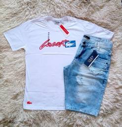 Kit camisa jeans + camisa peruana