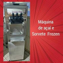 Máquina de açaí e frozen