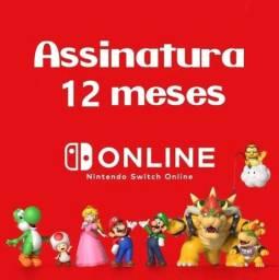 12 meses Nintendo Switch Online