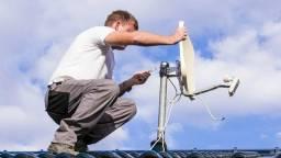 Vaga técnico instalação antena banda ku