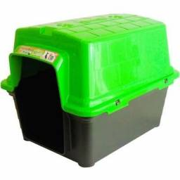 Casa plástica furacão pet - verde & Casa plástica furacão pet - Azul