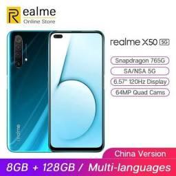 Realme X50 5G 12x sem juros