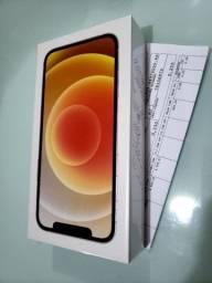 Título do anúncio: iPhone 12 - 128gb BRANCO - NOVO, LACRADO!