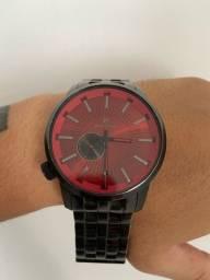 Relógio RipCurl Preto/Rubi