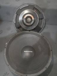 14 alto-falante 18 sw3p $.450 a unidade